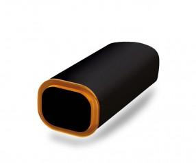 PowerBank Werbemittel POWER+ Klio schwarz orange