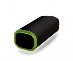 PowerBank Werbeartikel POWER+ Klio schwarz grün