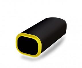 PowerBank Werbeartikel POWER+ Klio schwarz gelb