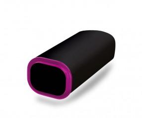 PowerBank Werbeartikel POWER+ Klio schwarz pink