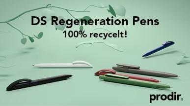 prodir DS Regeneration Pens. Nachhaltigkeit mit Qualität.