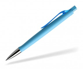prodir DS6 PRC R58 Soft Touch Kugelschreiber cyan