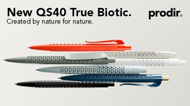 Biokugelschreiber prodir QS40 True Biotic: Created by nature for nature.