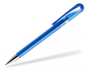 prodir DS1 Kugelschreiber TTC transparent T55 sky blau