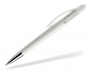 prodir DS2 PPC polished P02 Kugelschreiber weiss
