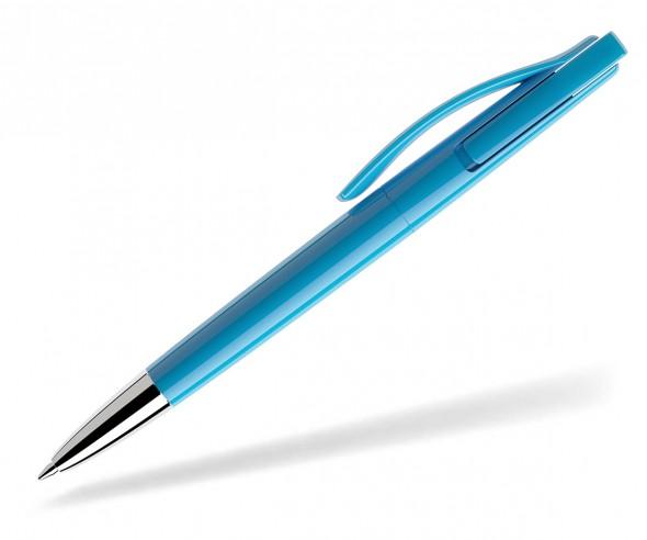 prodir DS2 PPC polished P58 Kugelschreiber cyanblau