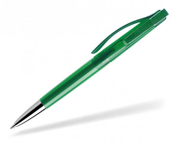 prodir DS2 PTC transparent T42 Kugelschreiber dunkelgrün