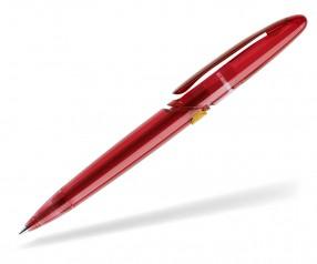 prodir DS7 PTT T21 F06 Kugelschreiber dunkelrot gelb