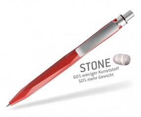 prodir STONE QS20 PQS Q20-S70 S Roter Quarzit-Silber satiniert