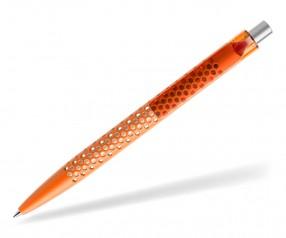 prodir QS40 Air PMT M10-S nachhaltiger Kugelschreiber Orange-Silber satiniert