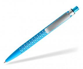 prodir QS40 Air PRS R58-S70 nachhaltiger Kugelschreiber Cyanblau