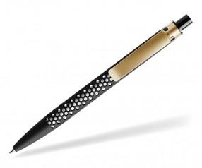 prodir QS40 Air PRS R75-S13 nachhaltiger Kugelschreiber Schwarz-Gold