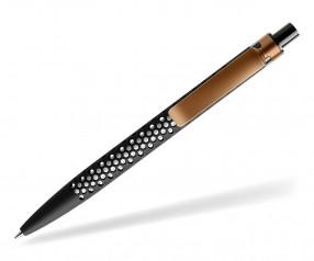 prodir QS40 Air PRS R75-S14 nachhaltiger Kugelschreiber Schwarz-Kupfer