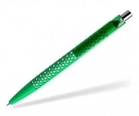 prodir QS40 Air PRT R67-C nachhaltiger Kugelschreiber hellgrün-Silber poliert