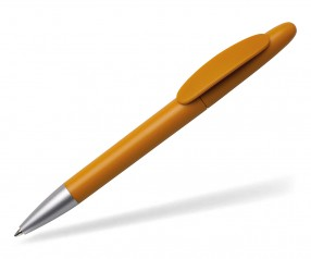 Quatron Icon silver Kugelschreiber caramel 7510