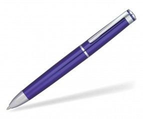 Kugelschreiber quatron 70800 titan blau 0293