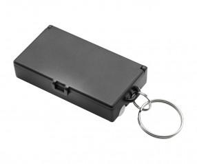Werkzeugset mit Schlüsselanhänger REFLECTS-UBERABA BLACK Werbeartikel schwarz