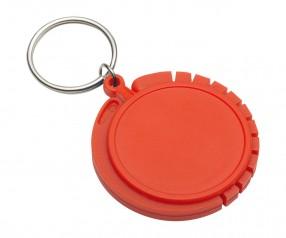 Schlüsselanhänger mit Taschenhaken REFLECTS-GRAZ RED Werbegeschenk rot