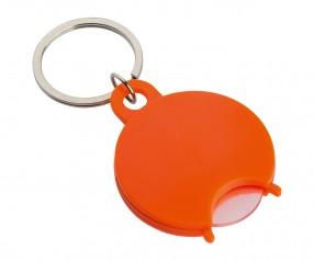 Einkaufswagenchiphalter REFLECTS-TALLULAH ORANGE Werbegeschenk orange