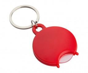 Einkaufswagenchiphalter REFLECTS-TALLULAH RED Werbepräsent rot