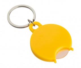 Einkaufswagenchiphalter REFLECTS-TALLULAH YELLOW mit Logo gelb