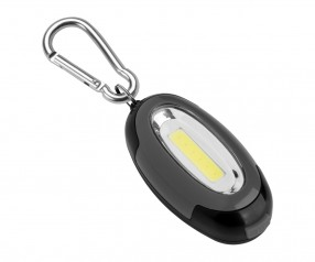 LED Lampe REFLECTS-ACCREA Werbepräsent schwarz/grau