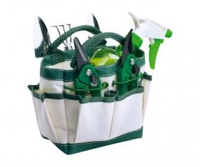 Gartenwerkzeug REFLECTS-MANUKAU Werbegeschenk grün, weiß