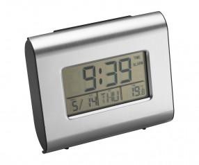 Uhr REFLECTS-ENCINITAS mit Beschriftung schwarz, silber