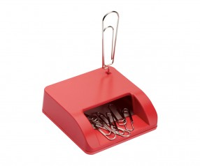 Schreibtischset REFLECTS-TIGARD RED Werbegeschenk rot