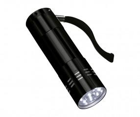 LED Taschenlampe REFLECTS-ILKESTON Promotion-Artikel schwarz