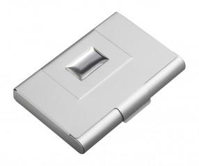 Visitenkartenbox REFLECTS-RAKVERE Werbemittel silber