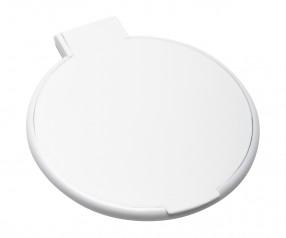 Taschenspiegel REFLECTS-OWEGO WHITE Werbegeschenk weiß