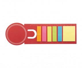 REFLECTS Lesezeichen KONYA RED mit Logo rot