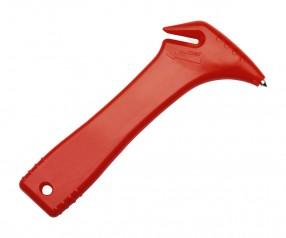 Notfallhammer REFLECTS-BAKI RED Werbepräsent rot