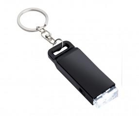 Taschenlampe REFLECTS-FUNCHAL BLACK Promotion-Artikel schwarz