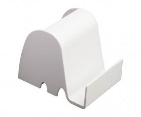 Schreibtischset REFLECTS-NARVA WHITE mit Logo weiß