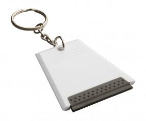 Eiskratzer mit Schüsselring REFLECTS-ALSIP WHITE Promotion-Artikel weiß