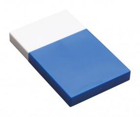Visitenkartenbox REFLECTS-KELMIS WHITE BLUE Werbepräsent blau, weiß, weiß/blau