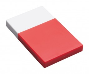 Visitenkartenbox REFLECTS-KELMIS WHITE RED Promotion-Artikel rot, weiß, weiß / rot