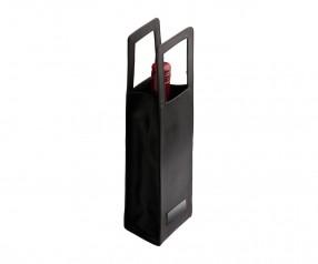 Flaschentasche REFLECTS-KELANG Werbeartikel schwarz