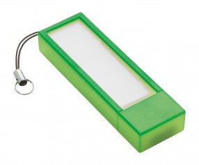 USB-Speicherstick REFLECTS-USB + NOTES LIGHT GREEN 4GB Werbemittel hellgrün