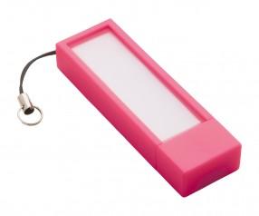 USB-Speicherstick REFLECTS-USB + NOTES MAGENTA 4GB Werbegeschenk magenta
