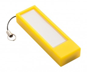 USB-Speicherstick REFLECTS-USB + NOTES YELLOW 4GB mit Werbeanbringung gelb