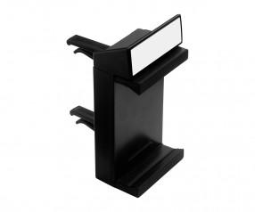 KFZ-Smartphone-Halterung REFLECTS-MARGATE BLACK Werbemittel schwarz, schwarz/weiß