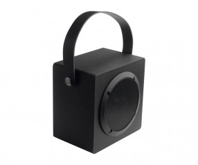 Lautsprecher mit Bluetooth® Technologie REFLECTS-ANAHEIM BLACK Promotion-Artikel schwarz