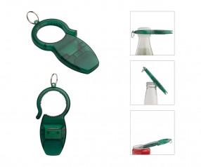 3-in-1 Öffner REFLECTS-HELTONVILLE GREEN Werbepräsent grün