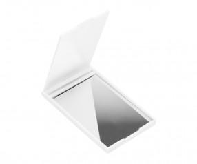 Taschenspiegel REFLECTS-ISPARTA WHITE Werbepräsent weiß