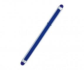 REFLECTS Kugelschreiber CLIC CLAC-MALDON SILVER BLUE Werbemittel silber/blau