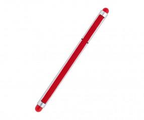 REFLECTS Kugelschreiber CLIC CLAC-MALDON SILVER RED Werbepräsent silber/rot