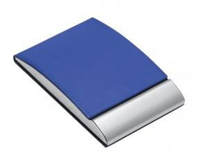 Visitenkartenbox REFLECTS-VANNES BLUE Werbeartikel blau